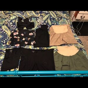 7 Piece Lot Of maternity Clothing